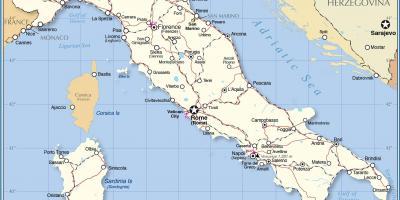 Rom Map Kartor Rom Lazio Italien